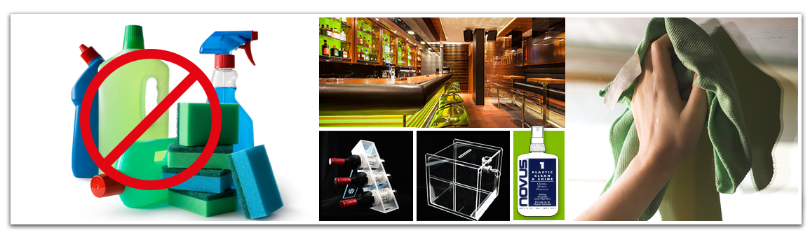 Groupe PolyAlto | Entretien des plastique | Polycarbonate  | Acrylique  | Nettoyage des vitrine d'acrylique | Nettoyage de présentoir en acrylique