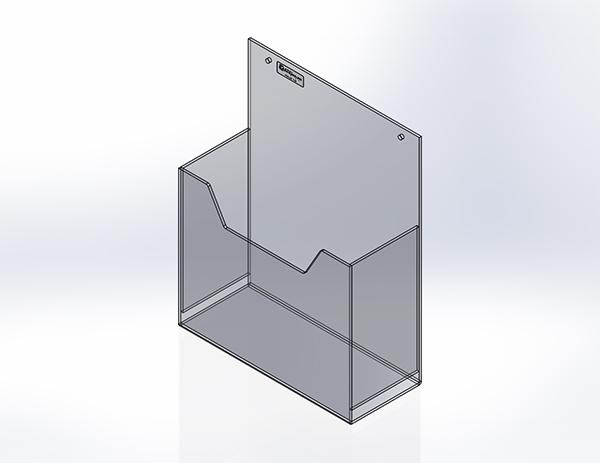 Groupe PolyAlto | Catalogue De Produits | Papeterie | Porte Document Mural  Vertical | Fabrication