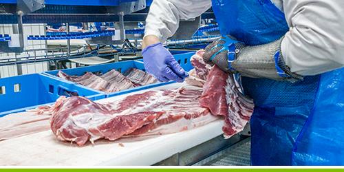 Groupe PolyAlto | HDPE Sanalite | Plache à découper | Table de coupe | Industrie alimentaire | Manufacturier alimentaire | Boucher | producteur de viande