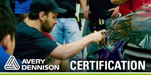 Avery Dennison vehicle wrapping training and certification